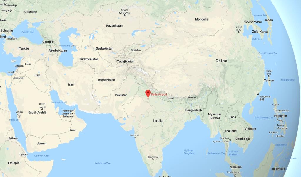 Delhi Google Maps