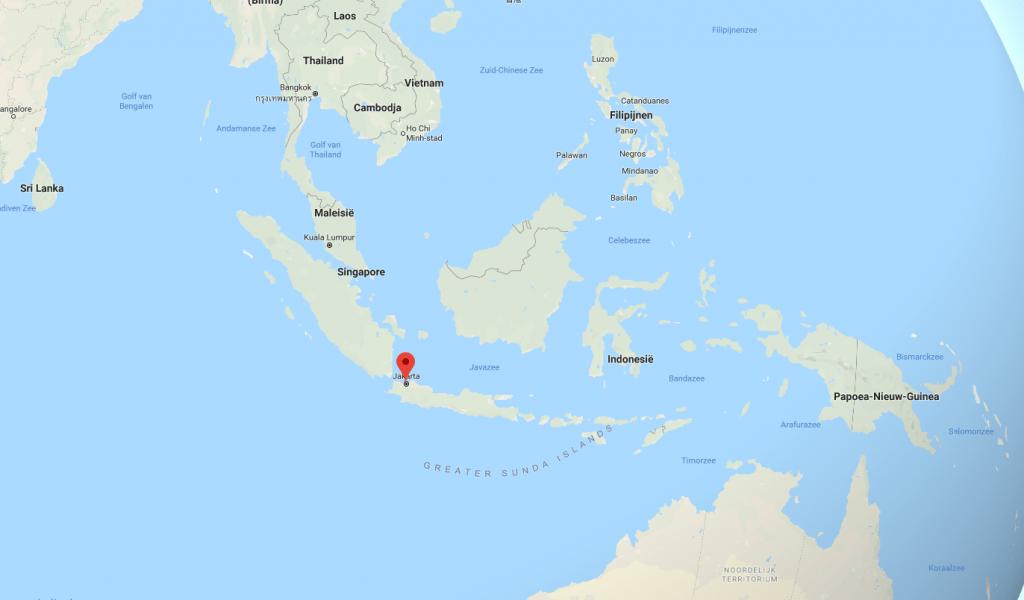 Jakarta Google Maps Grooste steden van de wereld