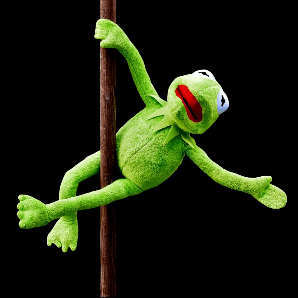 Kermit kan paaldansen