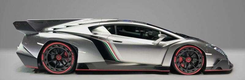 Lamborghini Veneno 4 duurste auto's