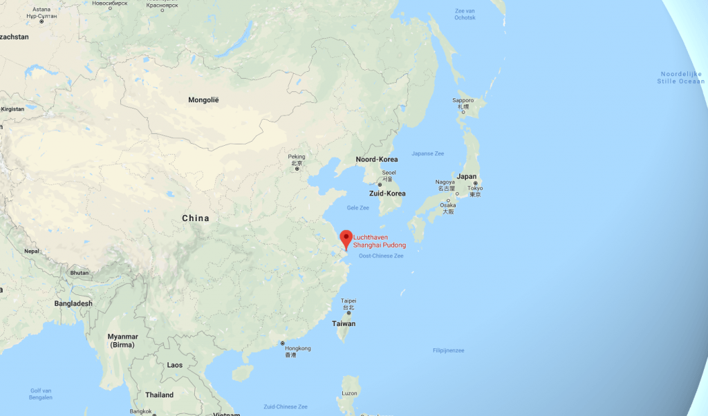 Shanghai Pudong Google Maps