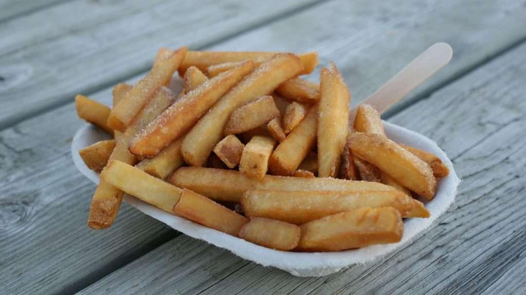 Ongezonde snacks