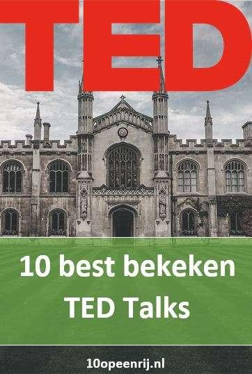 10 best bekeken TED Talks