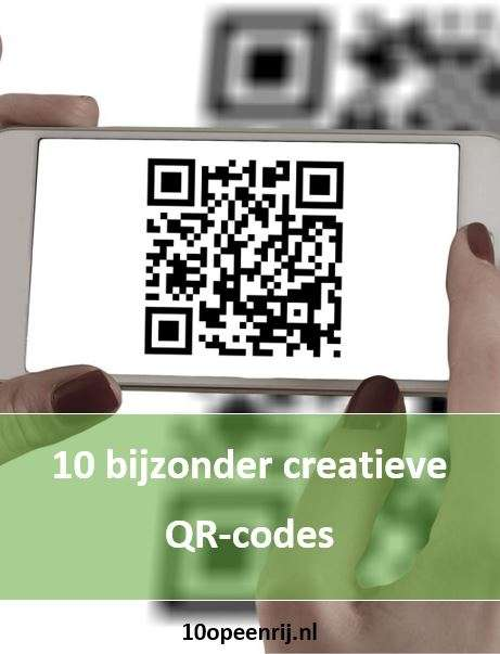 10 bijzonder creatieve QR codes