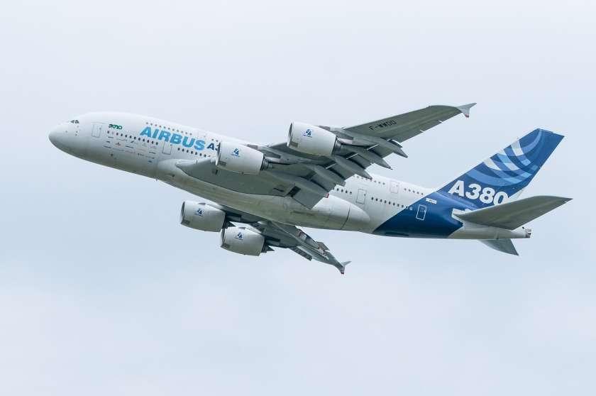 Airbus A380 grootste vliegtuigen
